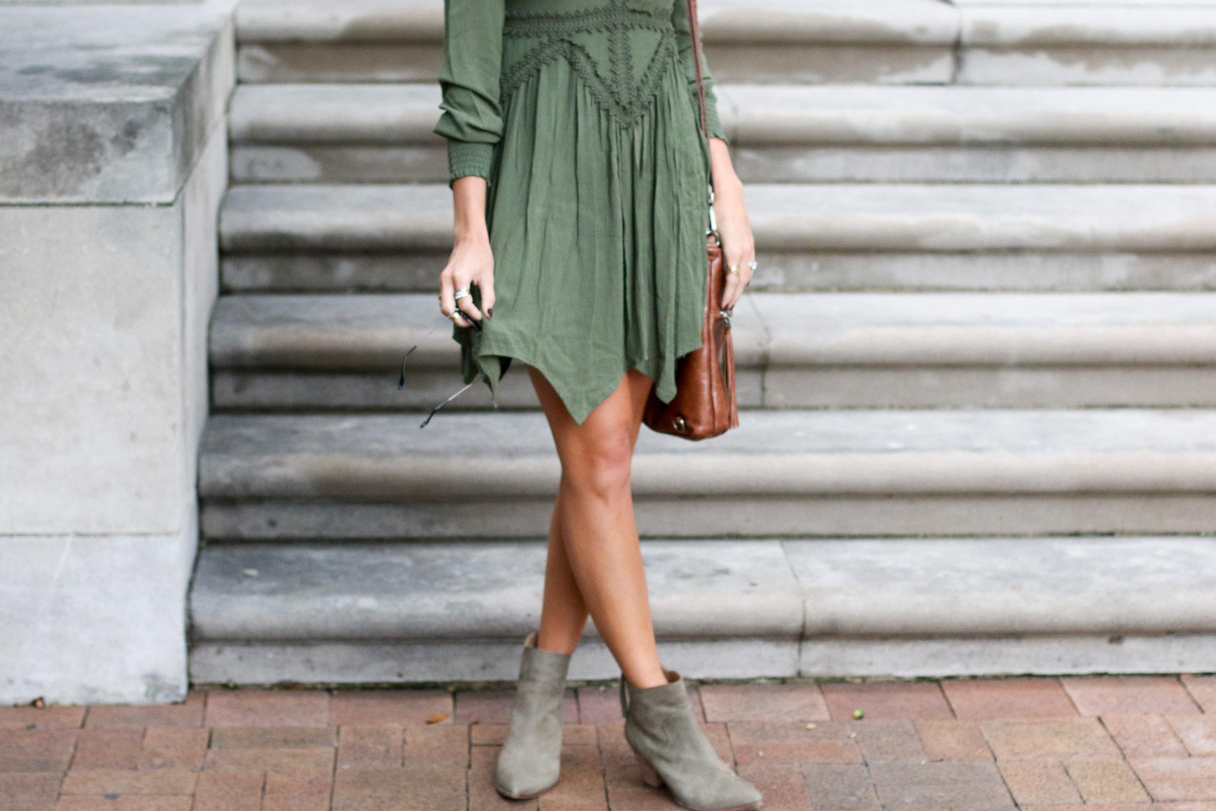 olive-green-dress