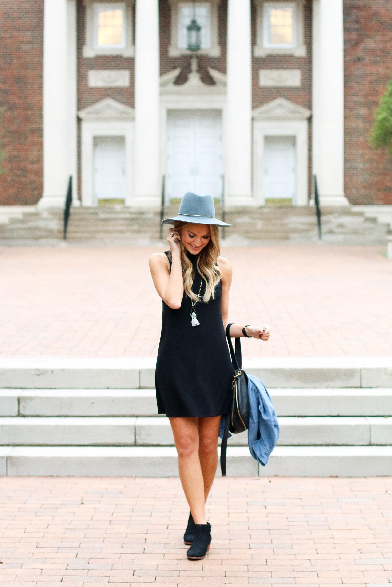 black-swing-dress