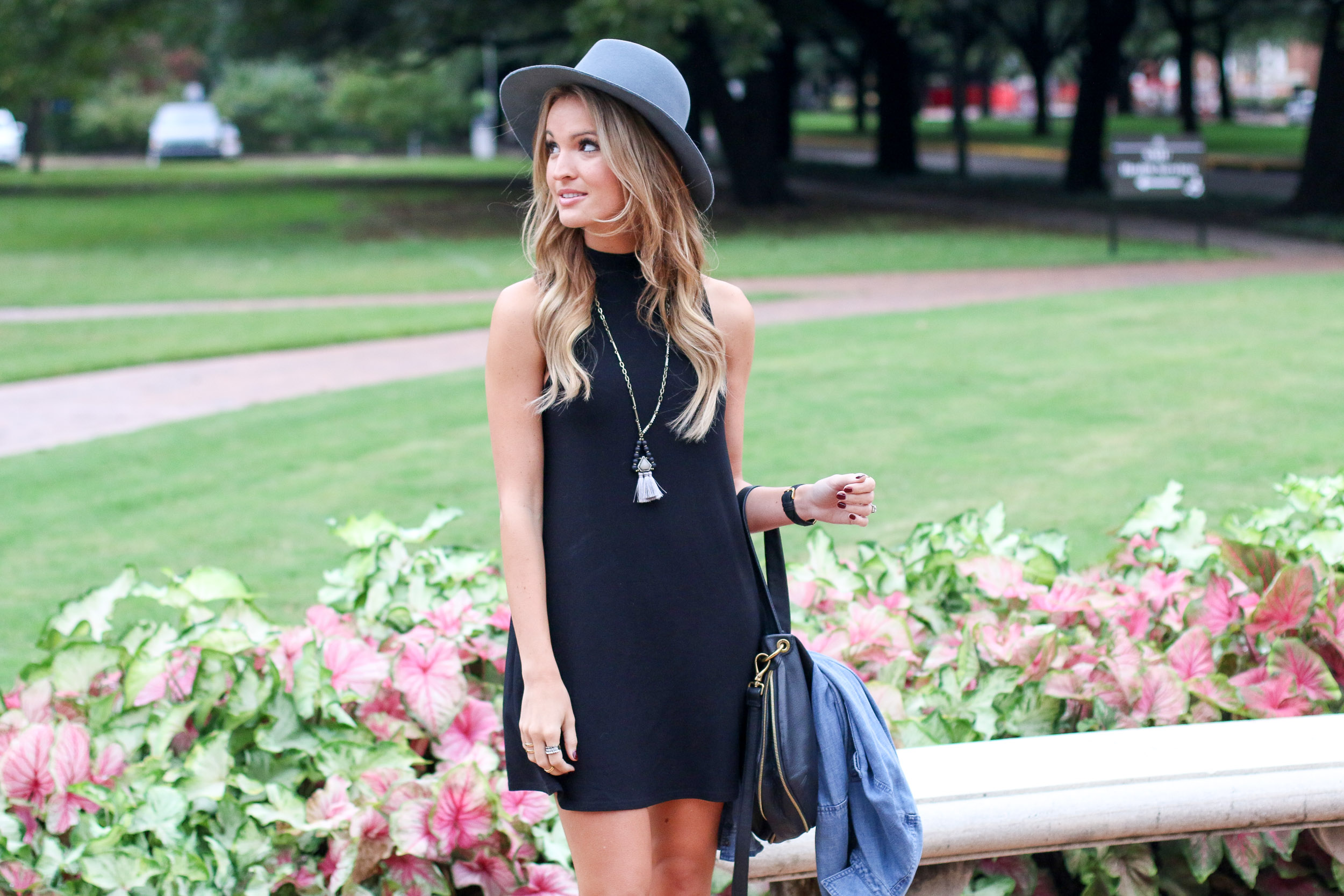 black-swing-dress
