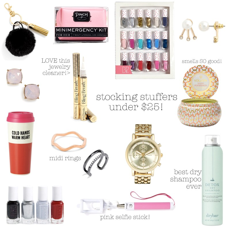 stocking stuffers under $25!