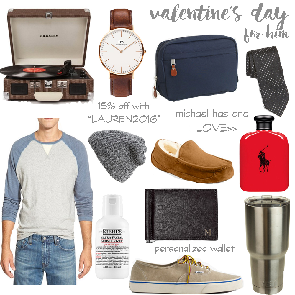 valentines day: gifts for him