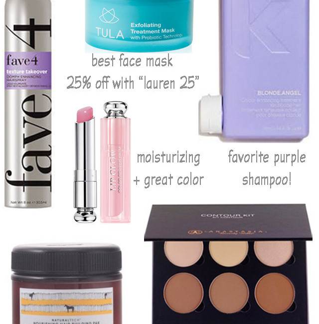 lauren kay sims favorite beauty products