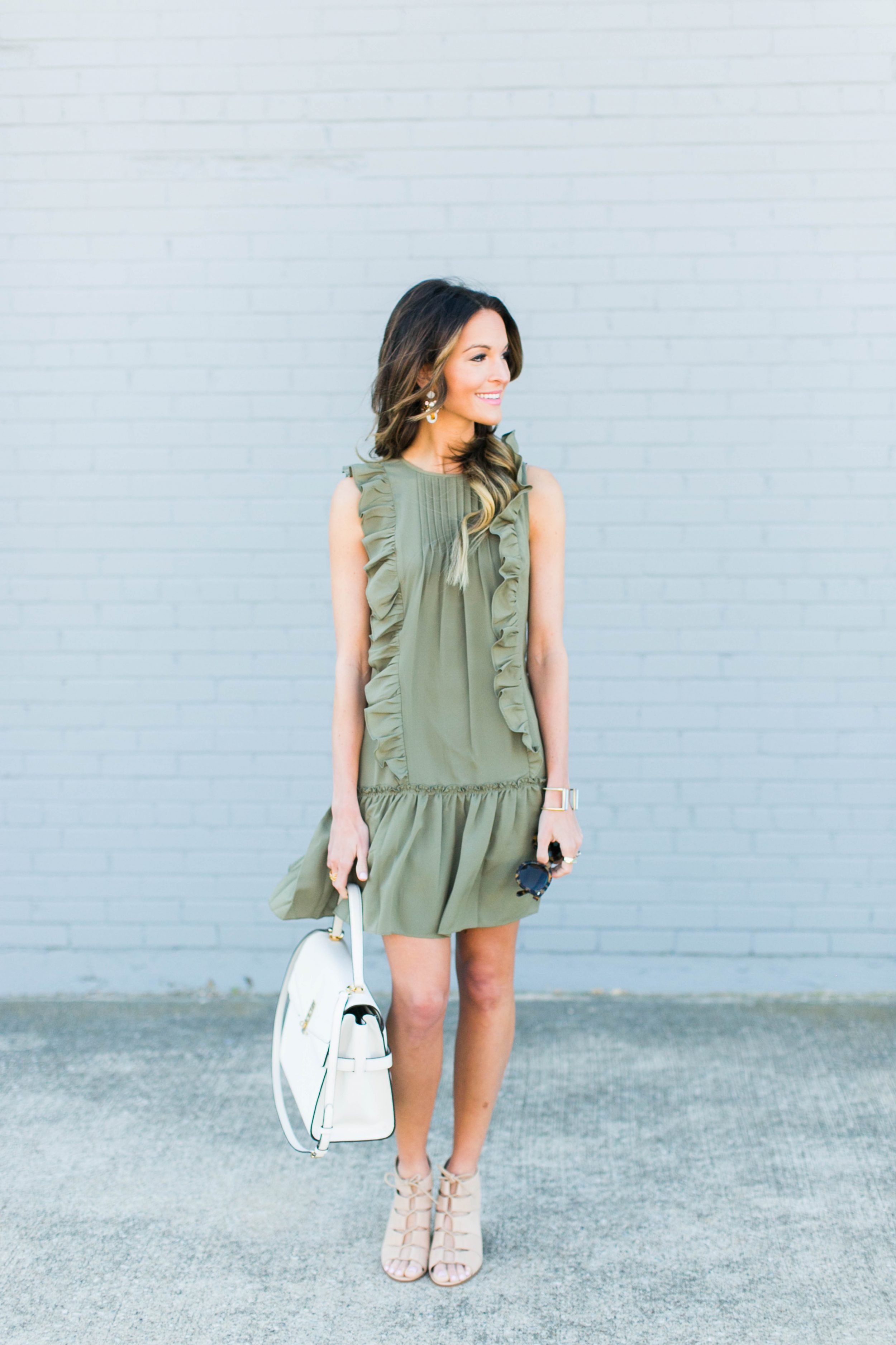 olive green for spring