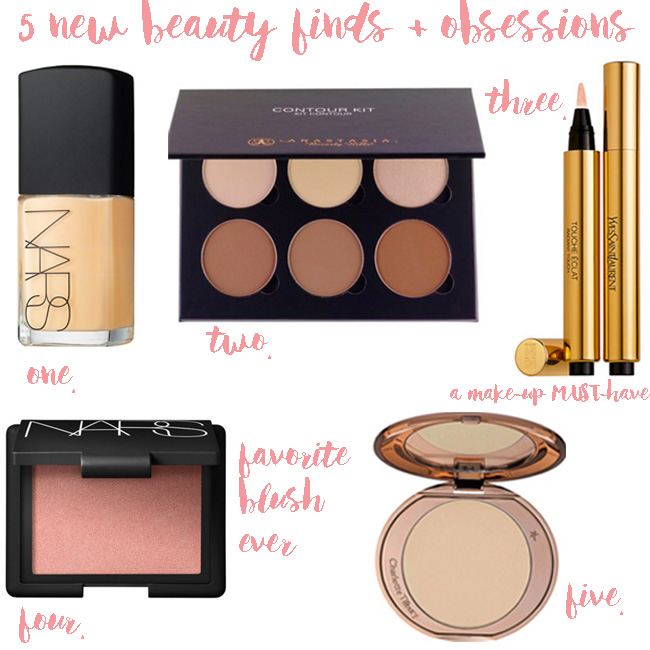 new beauty finds + obsessions