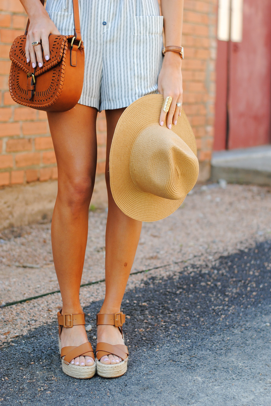 summertime romper: worry-free and under $70