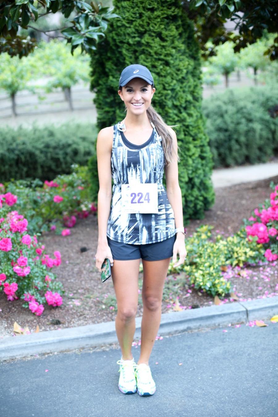 lauren sims ASICS half marathon