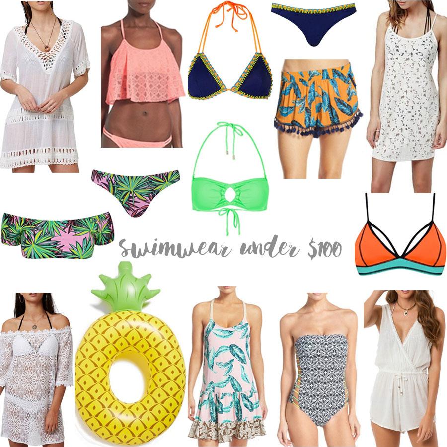 swimwear under $100