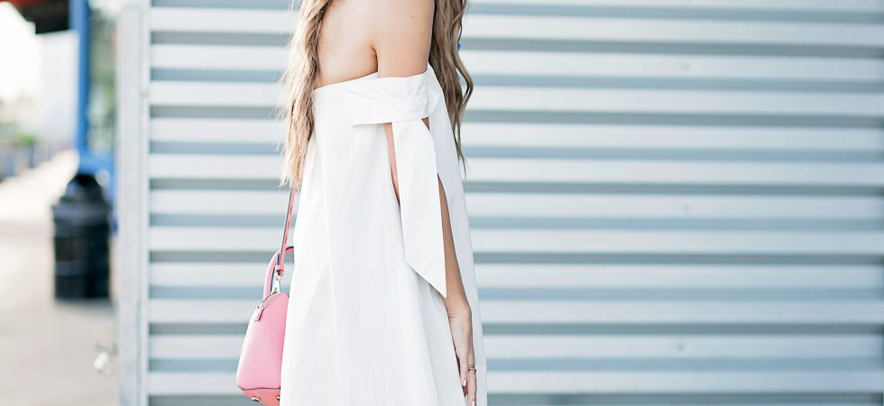 rebecca minkoff little white dress