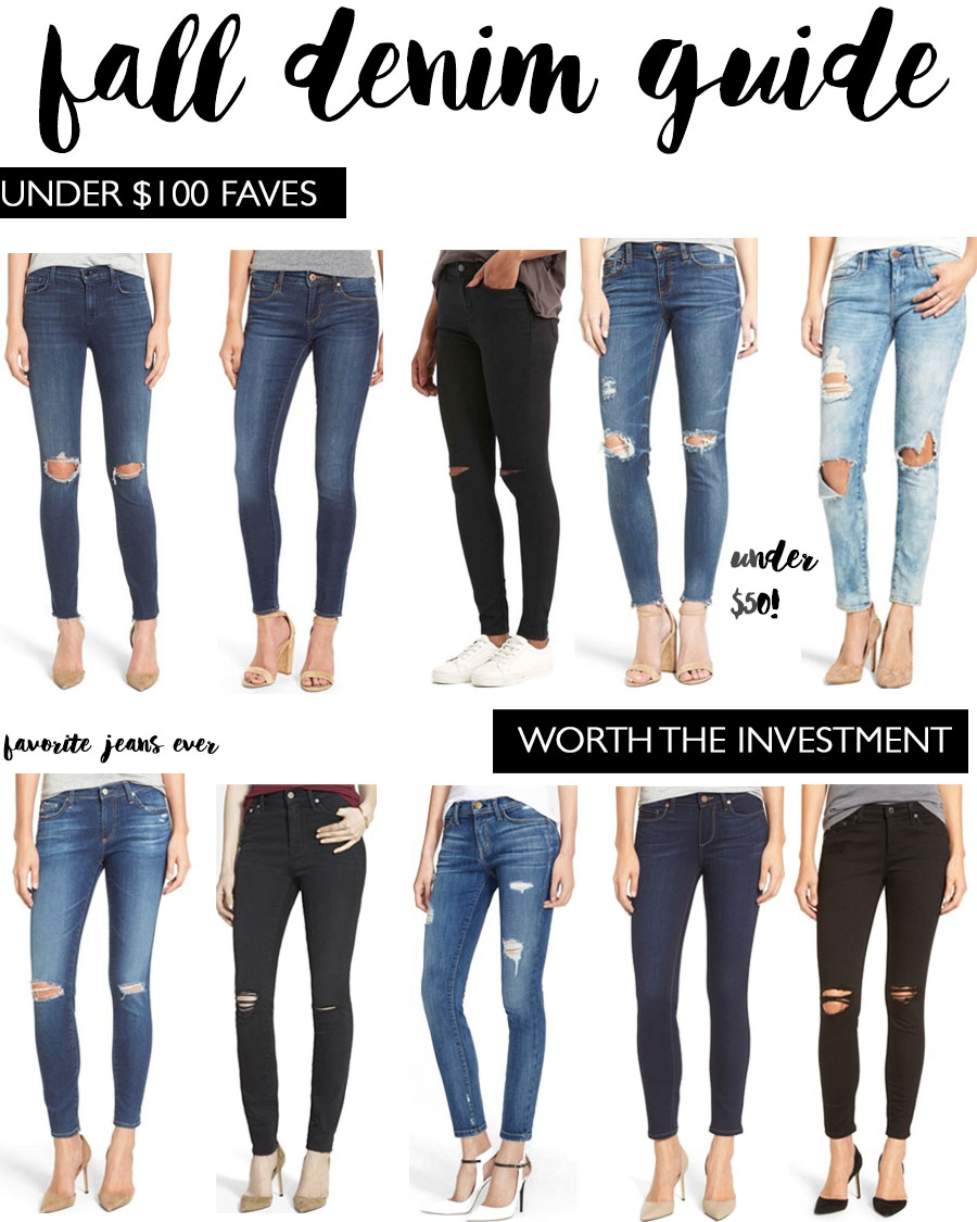 fall denim guide