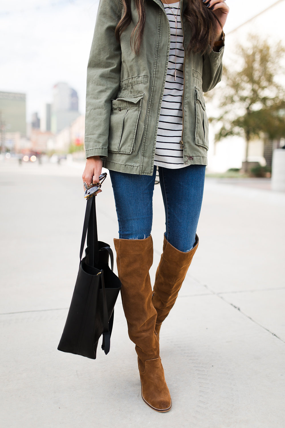 Perfect Army Jacket Lauren Kay Sims