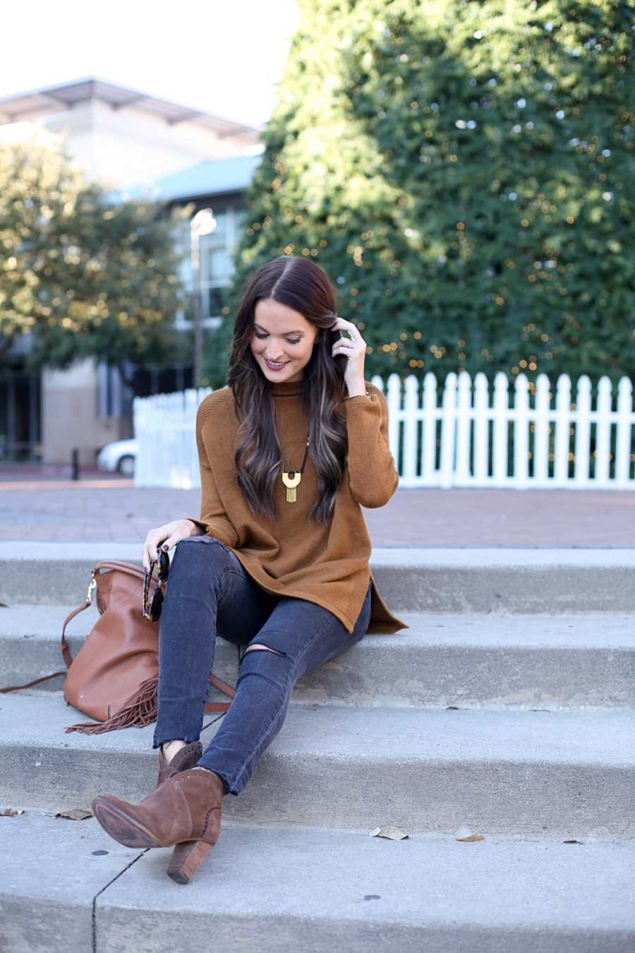 coziest sweater + unplugging for christmas