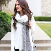 lauren sims loft blanket scarf