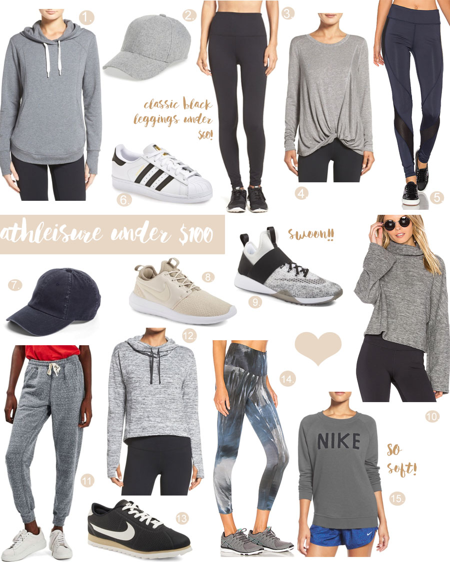 my athleisure addiction