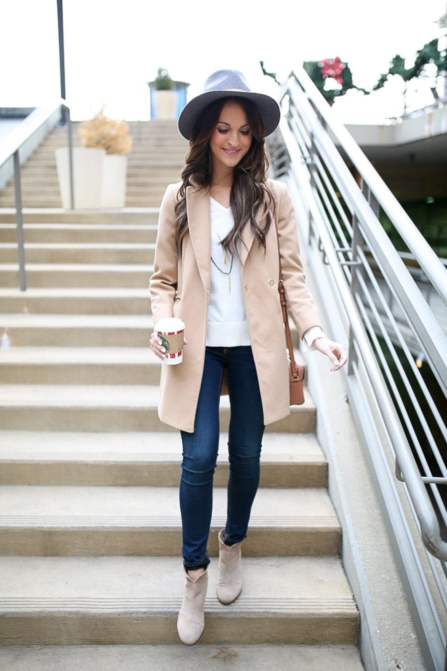 lauren sims camel coat