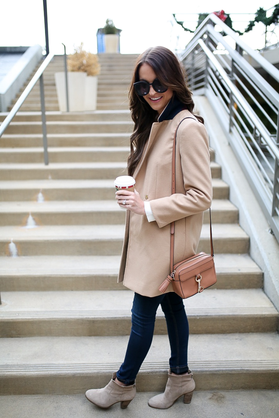 classic camel coat + my #1 resolution