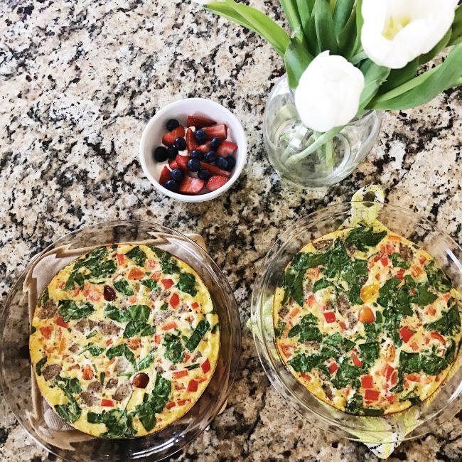 lauren sims healthy breakfast ideas