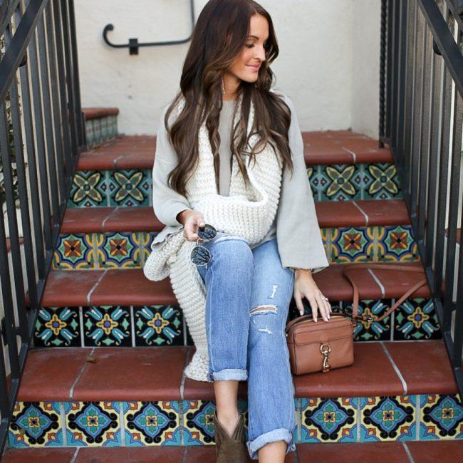 lauren sims boyfriend jeans