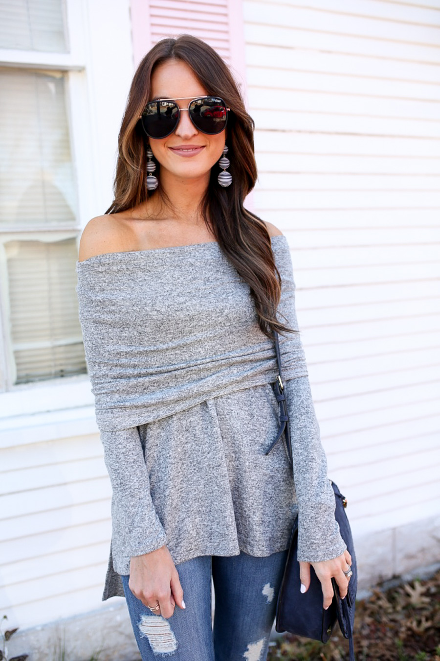 lauren sims convertible sweater