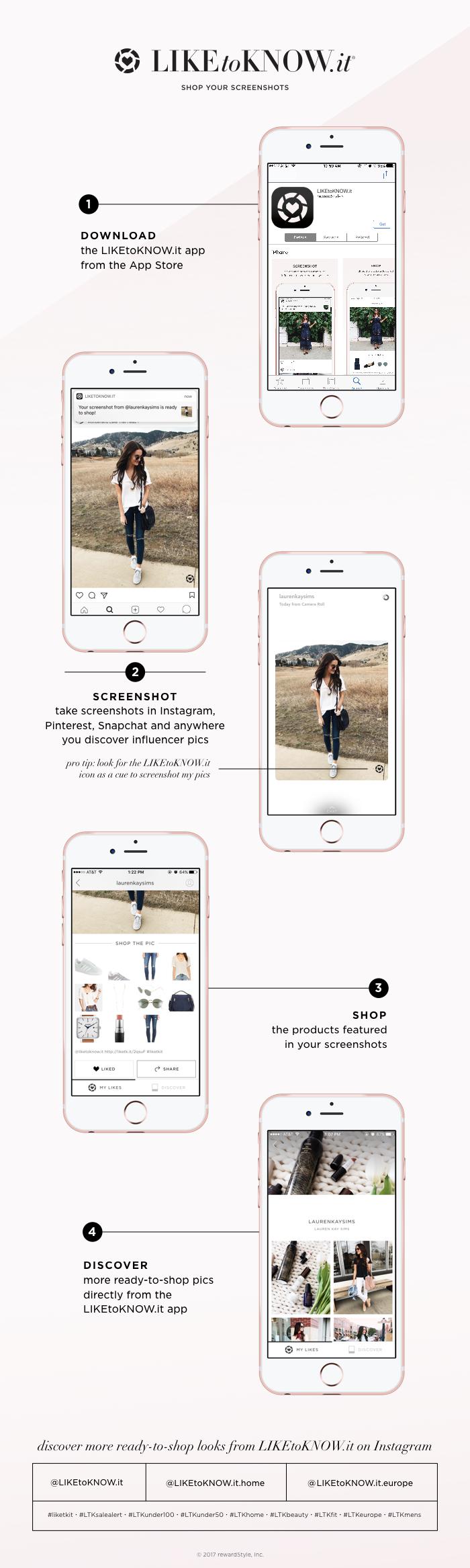 Lauren Sims LIKEtoKNOW.it app