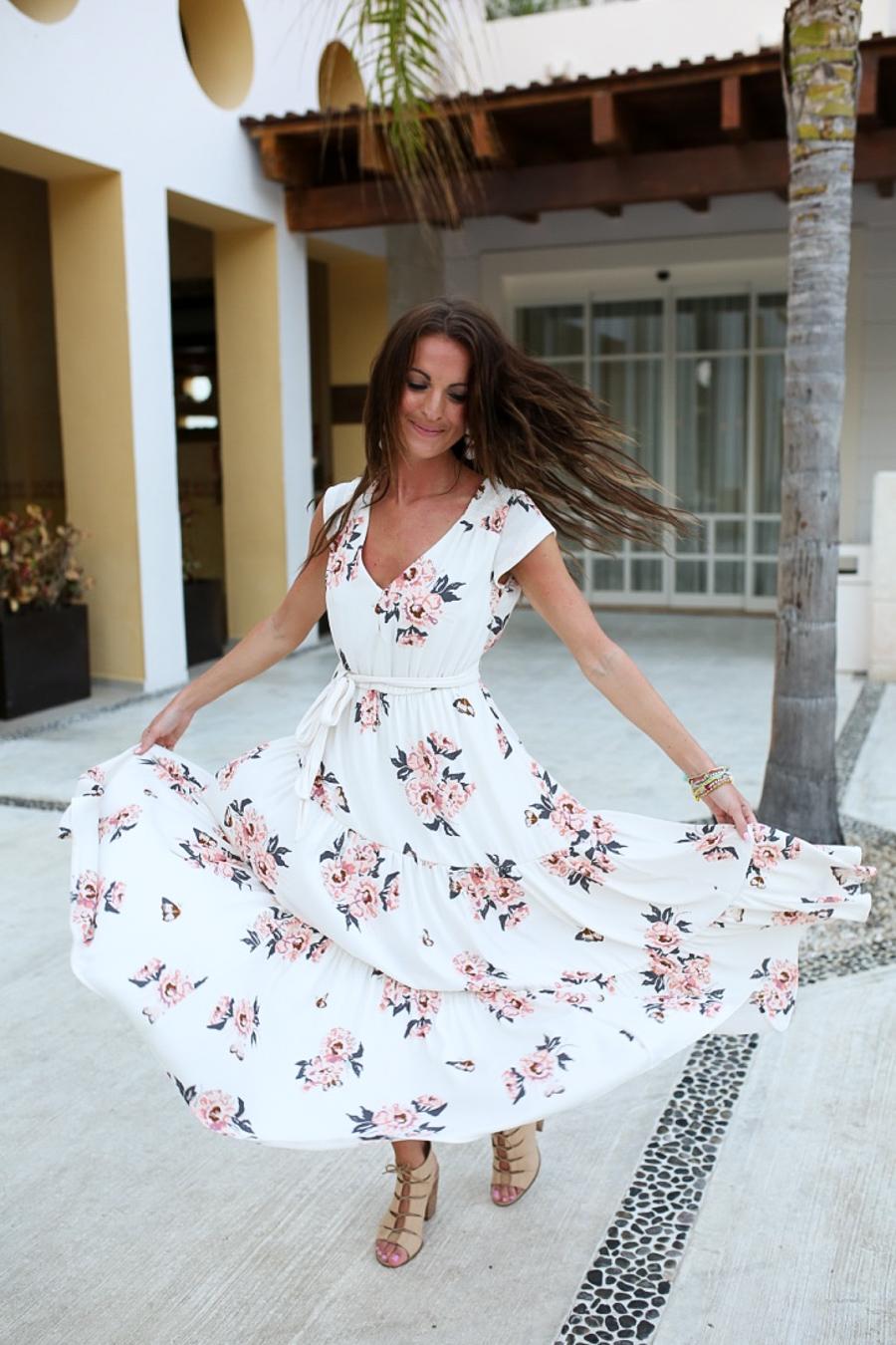 lauren sims free people floral maxi dress