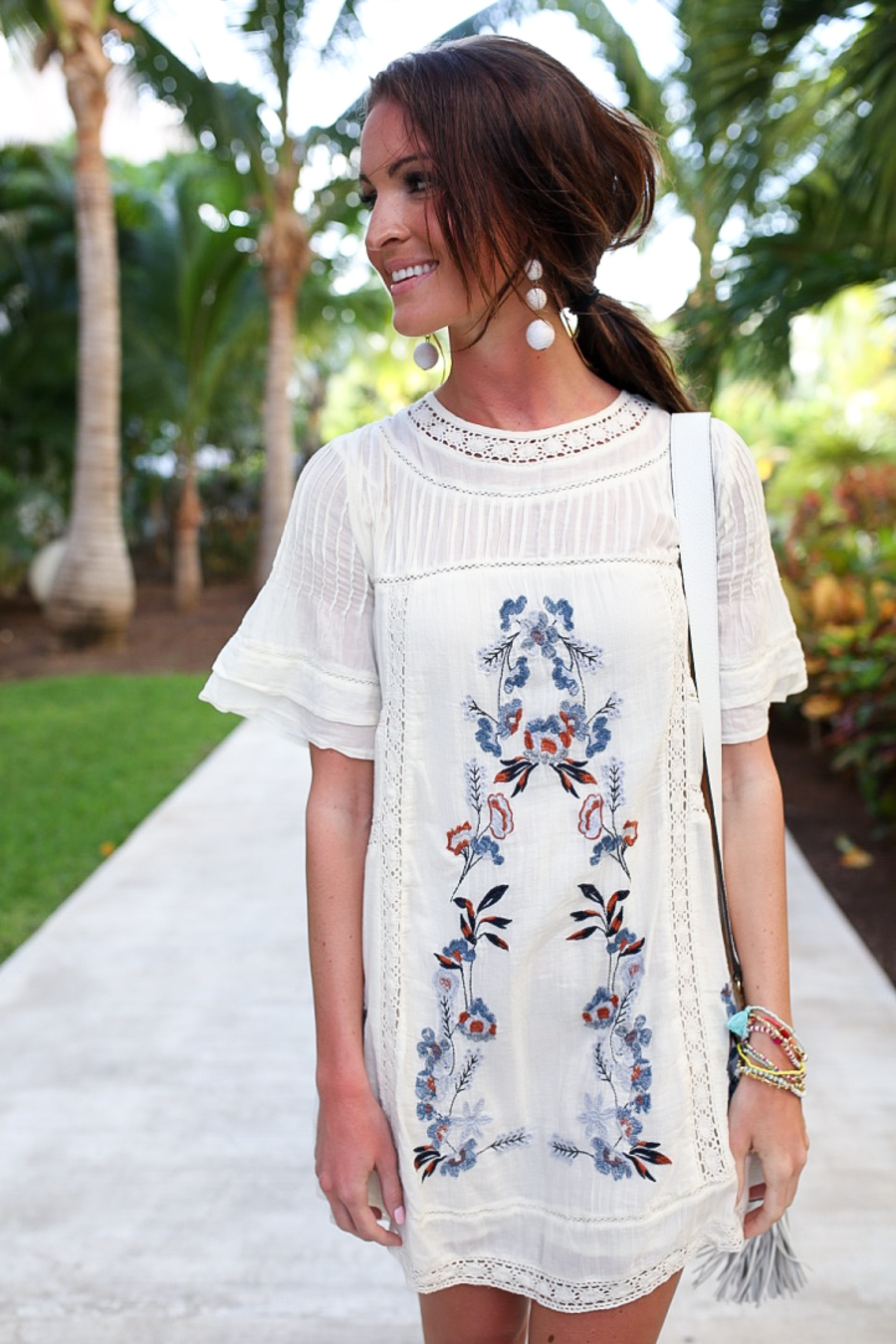 lauren sims free people embroidered dress