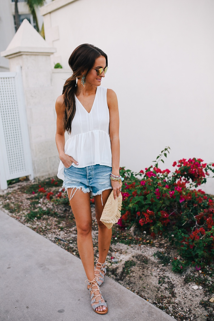 lauren sims denim for spring