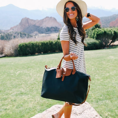 exploring colorado + perfect weekender bag