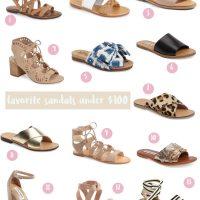 lauren sims summer sandals under $100
