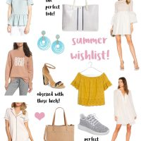 lauren sims summer wishlist