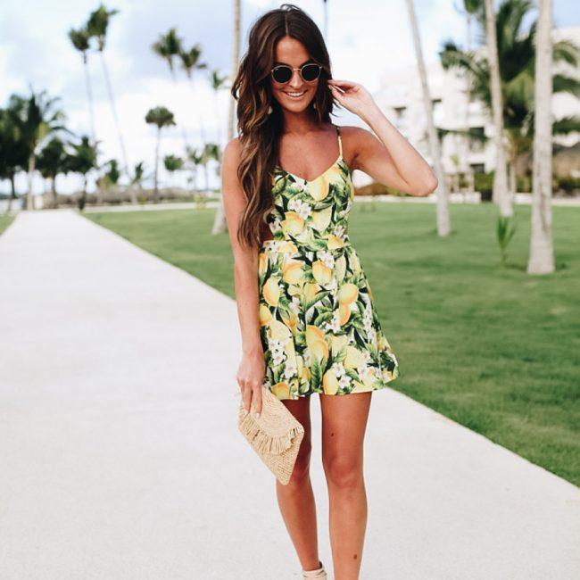 lauren sims lemon dress
