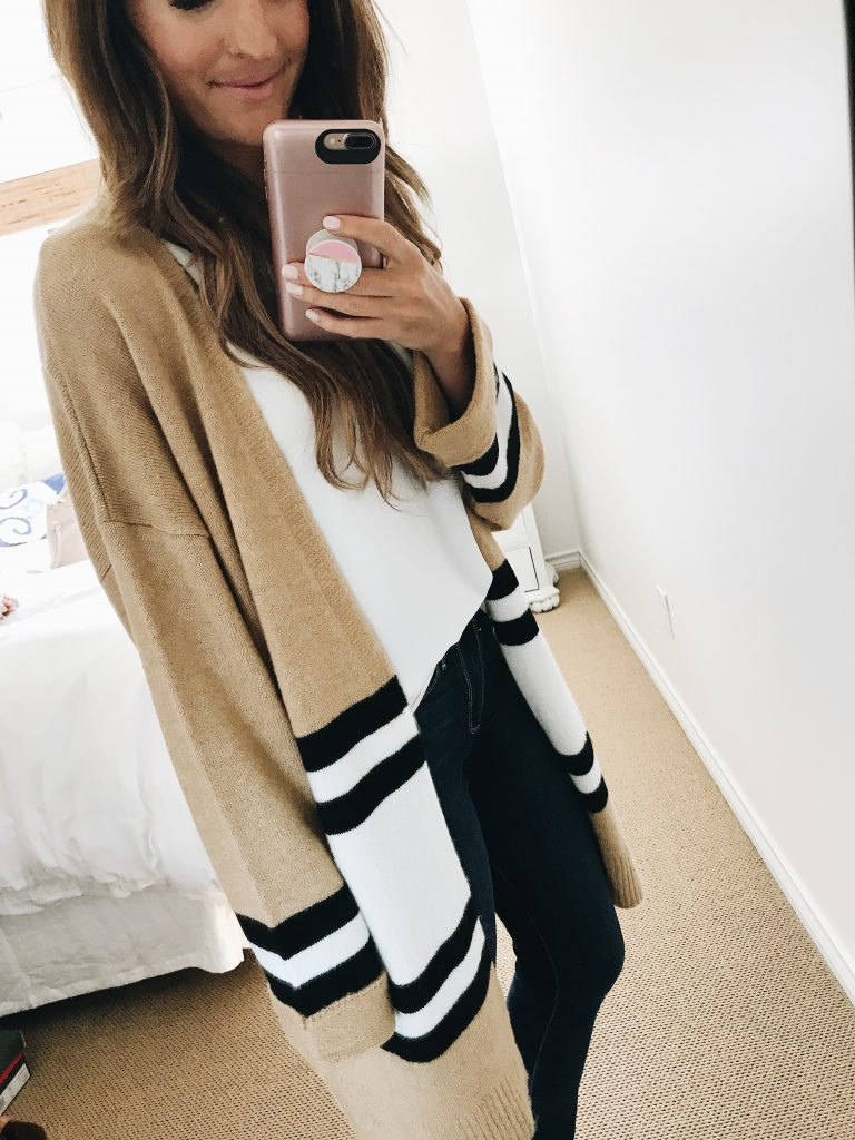 e42a714a8bc lauren sims nordstrom anniversary sale best purchases lauren sims nordstrom  anniversary sale best purchases. Item  Stripe Topshop colorblock cardigan  ...