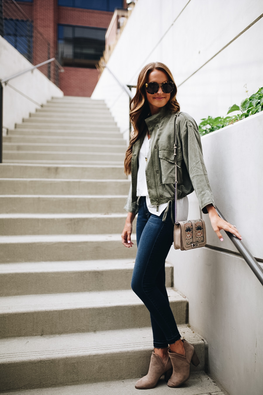 lauren sims nordstrom anniversary sale military jacket