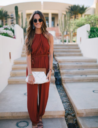 jumpsuit in cabo / summer or fall!