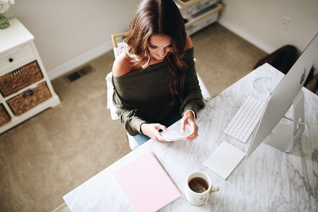 lauren sims how to be productive when working from home