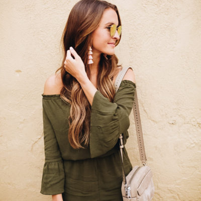 summer to fall romper