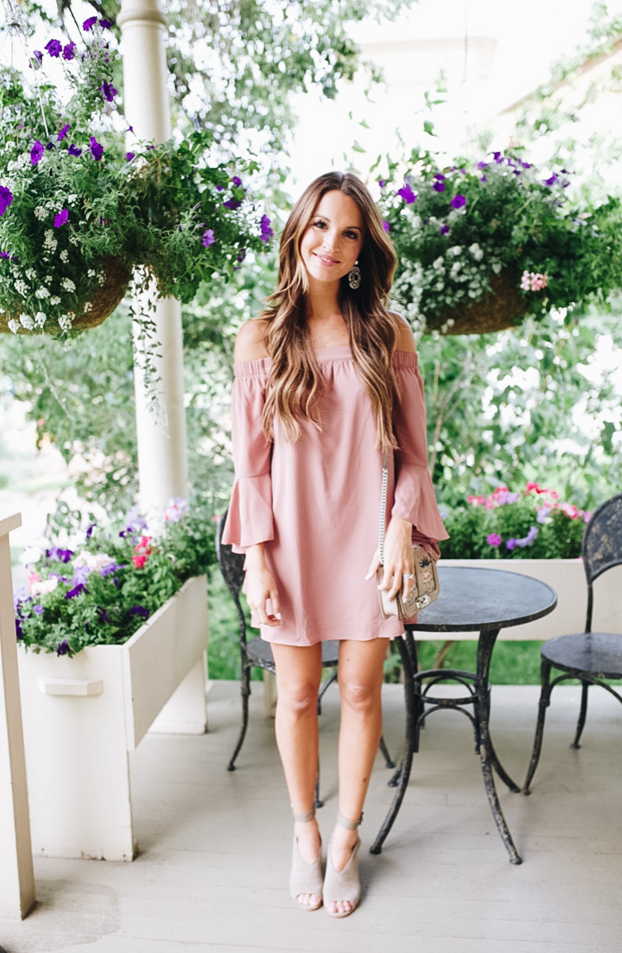lauren sims what to wear to a fall wedding