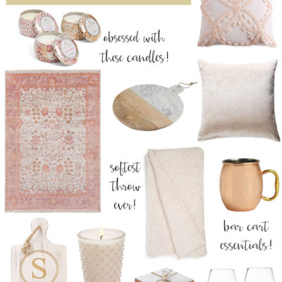 Nordstrom sale home decor faves