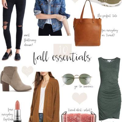 10 fall essentials