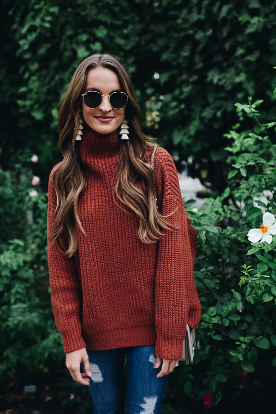 lauren sims free people oversized sweater