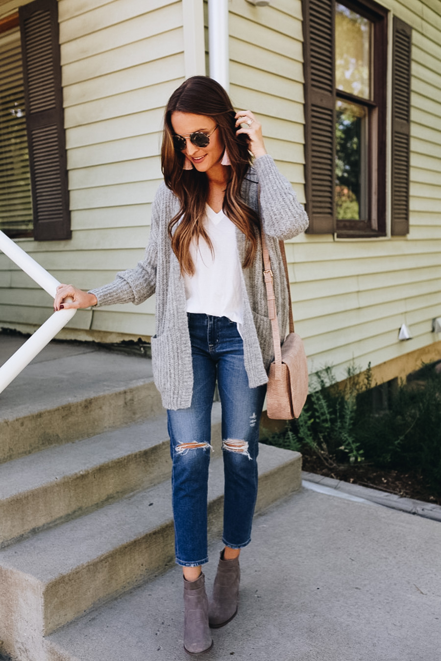 lauren sims budget-friendly fall booties