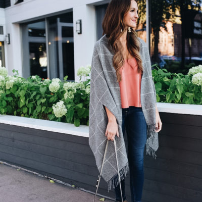 friday's in fall: all about the poncho