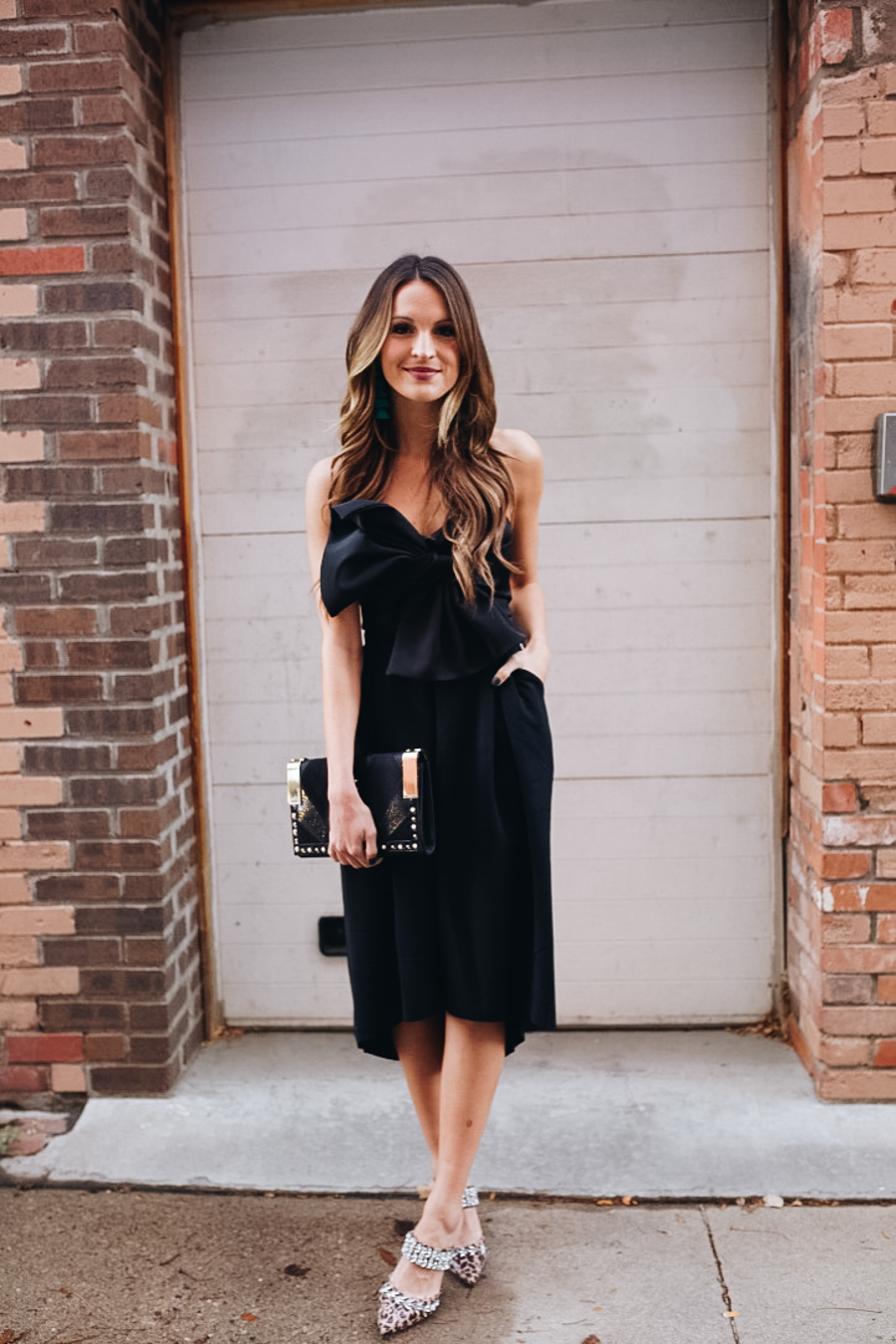 lauren sims holiday party outfits