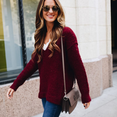 cozy oversized sweater + 3 blogging tips for beginners