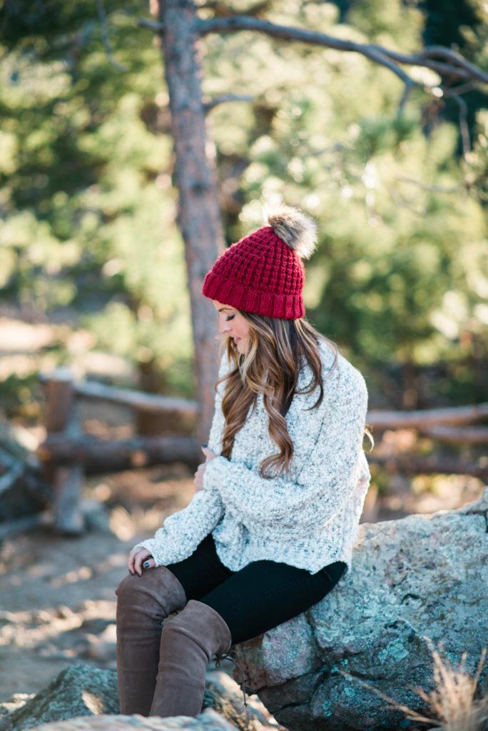 lauren sims chunky sweater
