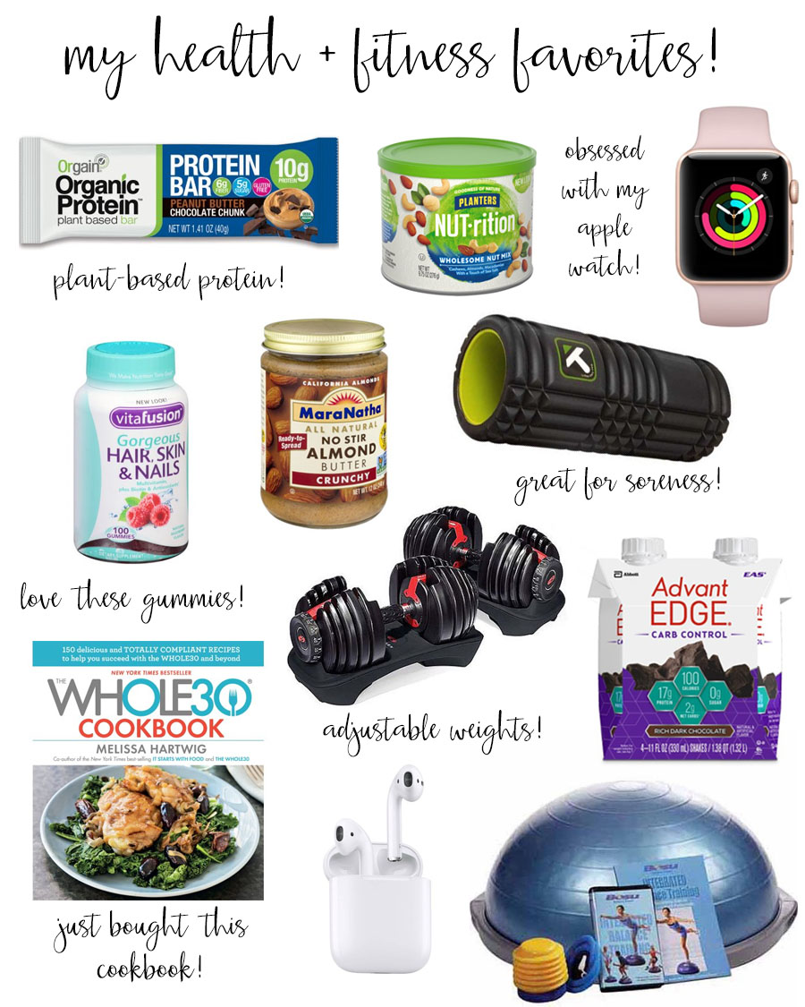 lauren sims health and fitness favorites