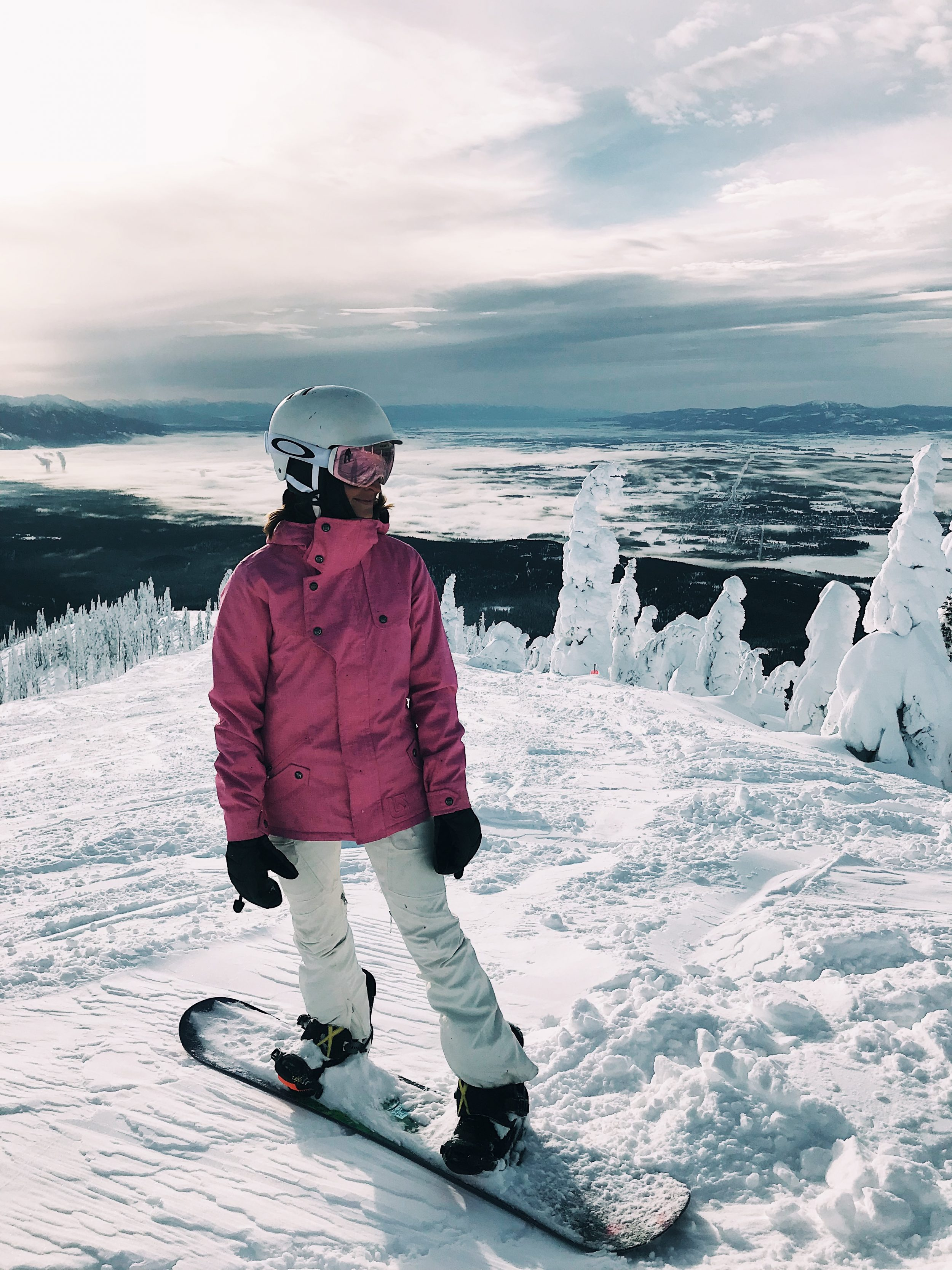 lauren sims snowboarding outfit