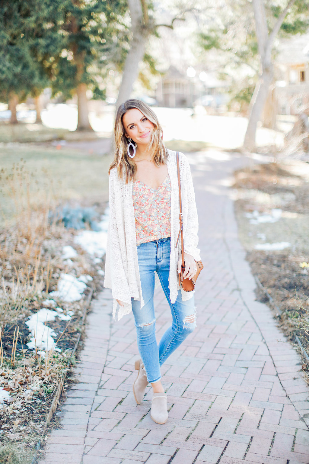 lauren sims madewell floral top