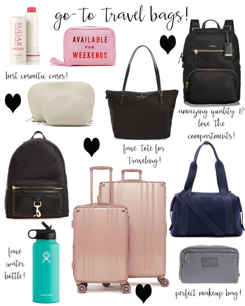 lauren sims go to travel bags