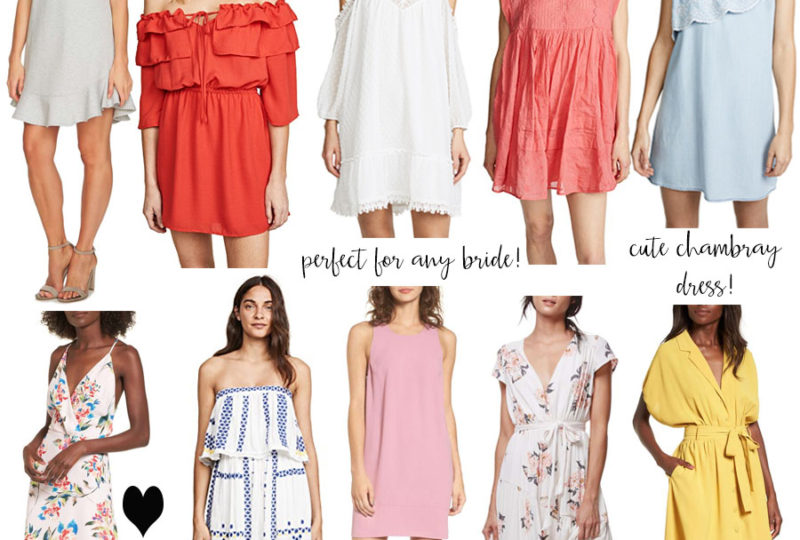 spring dresses round-up!