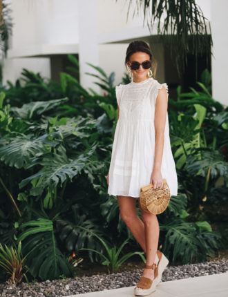 the perfect little white dress